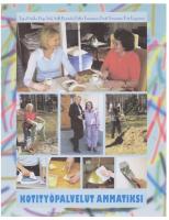 2007 Kotityöpalvelut ammatiksi kirja